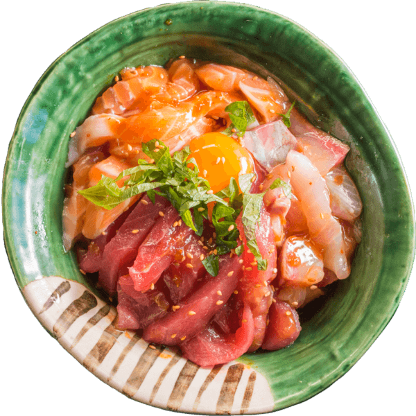 海鮮ユッケ丼